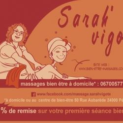 Flyer illustré pour Sarah Vigote avec création du dessin