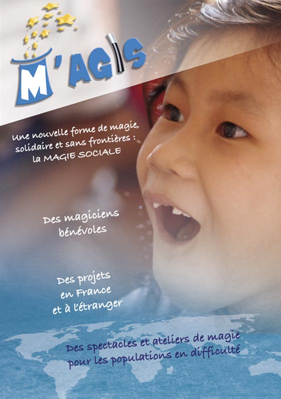 Flyer association MAgis (magie sociale)