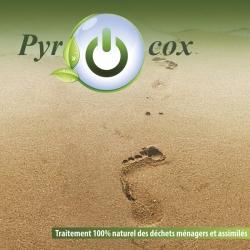 Cover de plaquette traitement des déchets - document 18 pages 22 x22 cm