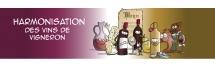 Communication BD: Illustration harmonisation des vins de vigneron