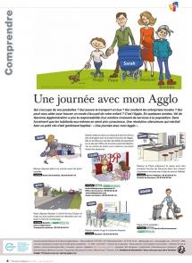 Communication Dessinée: Les principales compétences de la communauté d'agglomération Val de Garonne