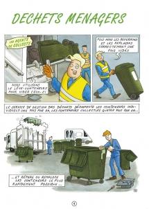 Communication BD: La charte qualité des déchets en Bande Dessinée-p4