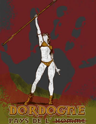 Illustration Photoshop - Dordogne pays de l'homme