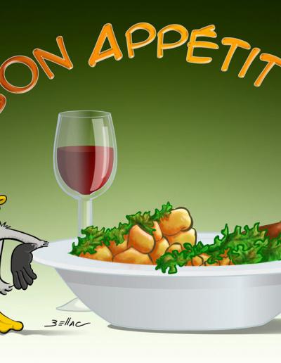 L'Avis des Oies : Série humoristique sur le Périgord - La gastronomie