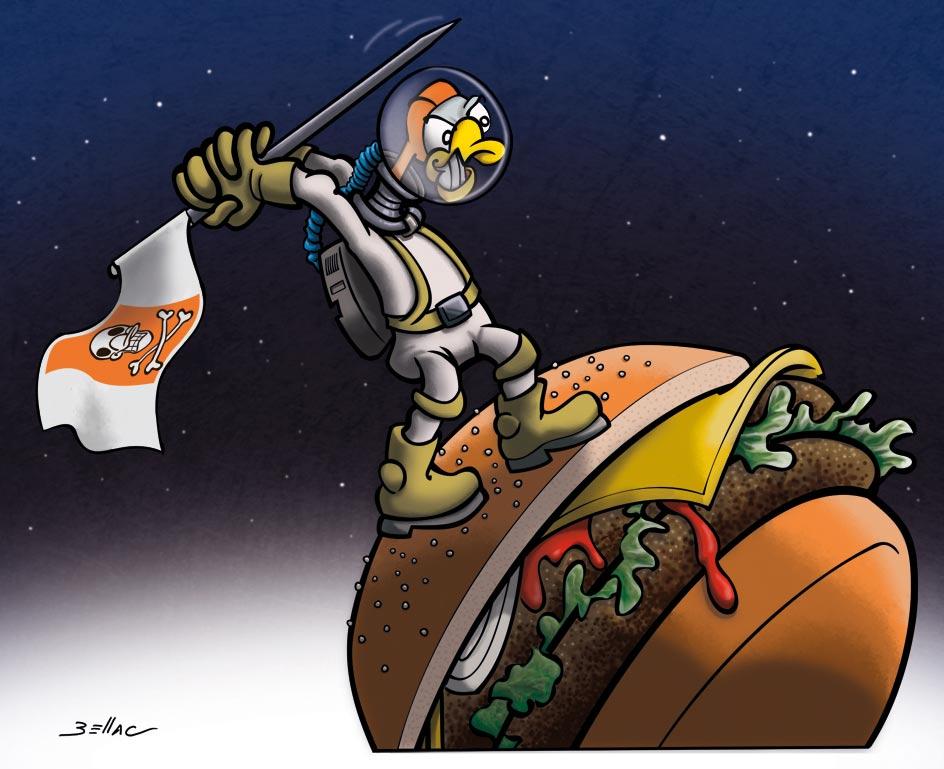 L'Avis des Oies : Série humoristique sur le Périgord - Fast food