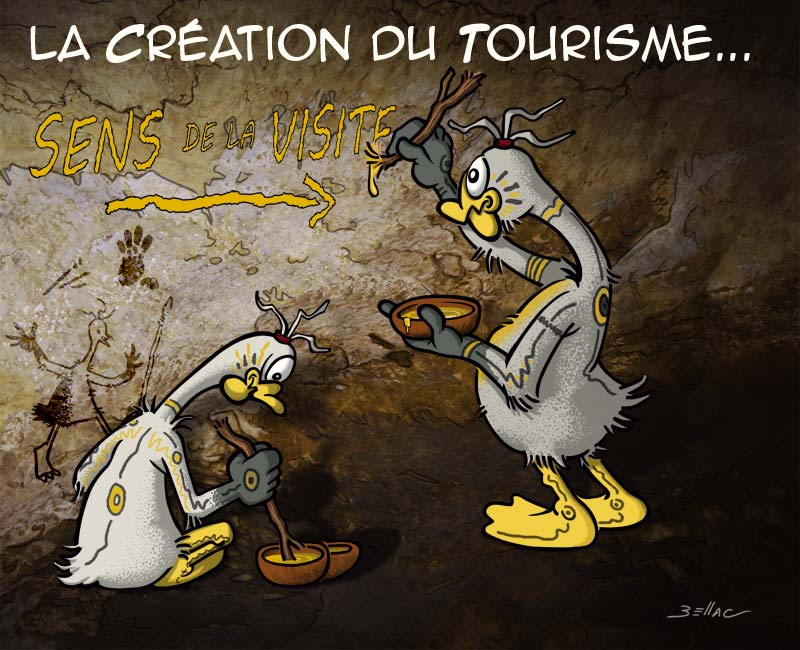 L'Avis des Oies : Série humoristique sur le Périgord - Invention du tourisme