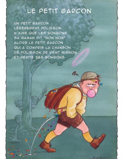 Illustration jeunesse - Le Petit Garçon