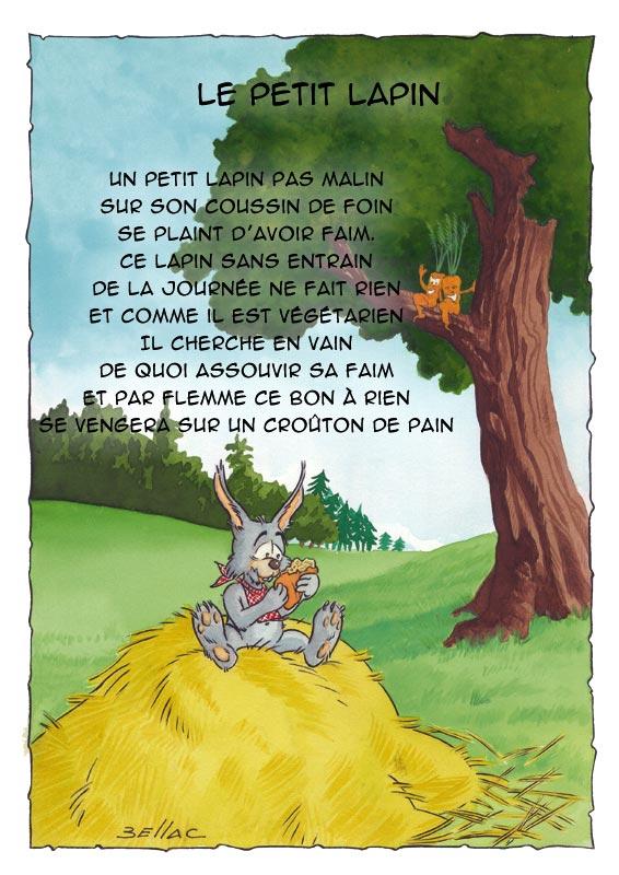 Illustration jeunesse - Le Petit lapin