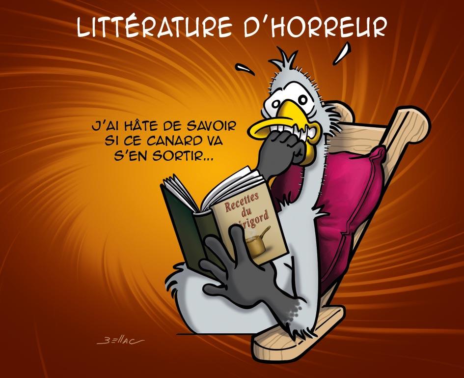 L'Avis des Oies : Série humoristique sur le Périgord - littérature d'horreur