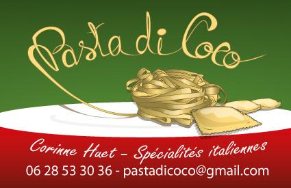 Spécialités Italiennes - Carte de visite